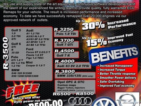 JVS TopGear Tuning Prices till year end - 2016